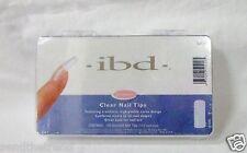 Ibd Nail Nail Tips Clear size 1-10 100ct/box