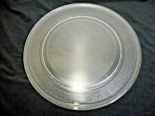 """New listing Round 16"""" Glass Microwave Oven Turntable Replacement Plate H09"""