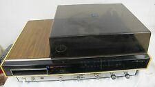MAGNAVOX 8 TRACK AM FM PHONO TURNTABLE RECEIVER VINTAGE
