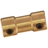 RC Airplane 2mm to 3mm Brass Motor Coupling Shaft Coupler Connector WS F6R4