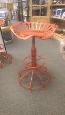Rouge vintage siège de tracteur tabouret, tabouret de cuisine industriel tabouret rouge