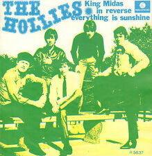 "HOLLIES ‎– King Midas In Reverse (1967 VINYL SINGLE 7"" DUTCH PS)"