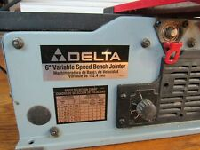 "Delta 6"" Variable Speed Bench-Top Jointer"