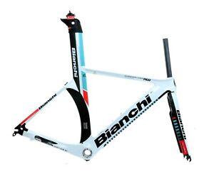Bianchi Pico Crono Carbon Triathlon / TT Frameset Mono Q Aero XS NOS NEW In Box