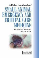 A Colour Handbook of Small Animal Emergency and Critical Care Medicine-ExLibrary