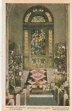 "*Church Postcard-""Trophy of Crutches/Vigil Stand/Oratoire Saint-Joseph"" (U1-548)"