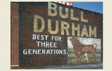 Bull Durham Smoking Tobacco PHOTO Sign, Building Advertisement,Collinsville IL