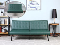Sofa Set Living Room Sofa Bed Couch Sleeper Convertible Leather Loveseat Futon