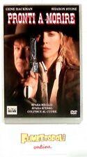 PRONTI A MORIRE DVD 1^ ediz. Columbia S.STONE Fuori Catalogo Usato COME NUOVO