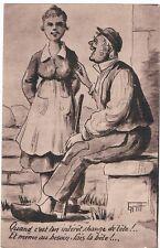 C8324 - Une Carte Postale Ancienne ILLUSTRATEUR