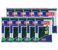 *Korean Traditional Food* Daecheon season laver (to roast)10packs