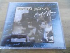 BON JOVI BED OF ROSES 4 TRACKS 1993 CD SINGLE 3 LIVE TRACKS USED MERCURY RECORDS