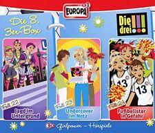 3 CDs * DIE DREI !!! (AUSRUFEZEICHEN) - BOX 8 - FOLGEN 22 - 24 # NEU OVP =