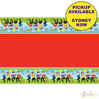 THE WIGGLES PARTY SUPPLIES PLASTIC TABLECLOTH TABLE COVER BIRTHDAY TABLEWARE