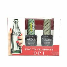 OPI GelColor Coca Cola Two To Celebrate Limited Edition Collection
