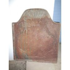 plaque fonte emaillee socle fourneau / s171-10 / lcou