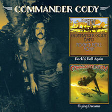 COMMANDER CODY FLYING DREAMS & ROCK  'N'  ROLL AGAIN CD NEW