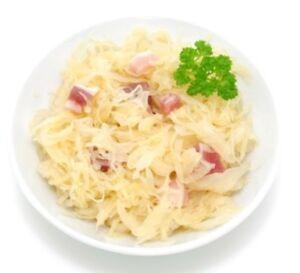 hausgemachtes Sauerkraut tischfertig vom Landmetzger (nach alter Rezeptur) 1,7kg