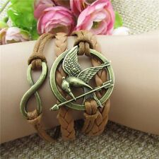 Friendship Bracelet Mockingjay  Fashion Leather Bracelet [12]