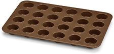 BIALETTI - Stampo 24 Mini Muffins Cioccolatini In Silicone