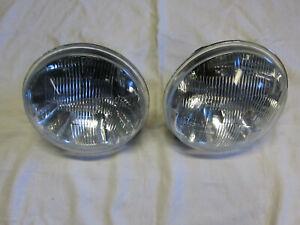 Maserati Bora headlight pair lights Carello NOS