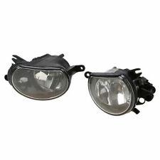 Pair Halogen Fog Light Lamp Assembly Fit Audi Q7 2010 2011 2012 2013 2014 15 16