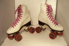 Vintage Roller Derby Purple & White Roller Skates Women Size 6