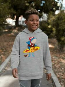 Shark Let's Go Surf Hoodie -Image by Shutterstock