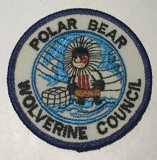 Polar Bear Wolverine Council Patch Mint Mc2