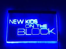 New Kids on the Block Led Sign Blue