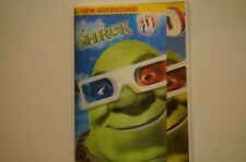 Shrek 3-D (DVD) with 4 Pairs of 3D Glasses