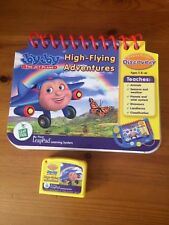 LEAPFROG MY FIRST LEAPPAD BOOK & CARTRIDGE-JAY JAY THE JET PLANE HIGH FLYING ADV