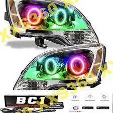 ORACLE Halo 2x HEADLIGHTS for GMC Acadia 08-12 COLORSHIFT BC1 Bluetooth LED