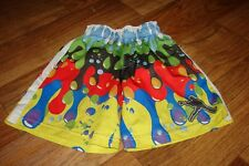 Lacrosse Unlimited Boys Youth Size Small Splattered Paint Lacrosse Shorts