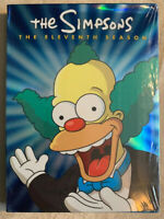 The Simpsons Eleventh Season 11 (DVD, 2008, 4-Disc Set) BRAND NEW Sealed Banned!