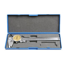 AU Shock Proof Measure Dial Vernier Caliper Hardened Stainless Steel 150mm Case