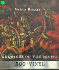 "Vicious Rumors Soldiers Of The Night 1985 Hard RockMetal12"" vinyl LP EX CON"