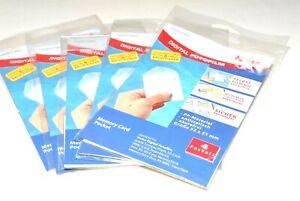 5x Hama 7985 Memory Card Pocket / Speicherkarten Archivierungstasche (neuwertig)