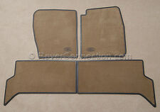 Genuine OEM Land Rover 99~04 Discovery 2 BEIGE Carpet  Floor Mat Mats Full Set