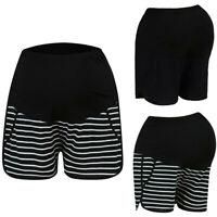 Women Mom Maternity Summer Pregnancy High Waist Adjustable Shorts Pants Trousers