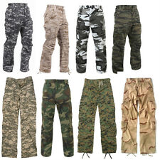 Pants BDU Pants Military Camouflage Paratrooper Tactical Fatigue Camo  Rothco