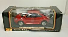 🚗Maisto Special Edition Volkswagen New Beetle 1:18 Model Die Cast Metal 🚗W178