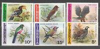 Liberia - Mail 1977 Yvert 736/41 MNH Wildlife Birds