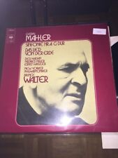 Gustav Mahler Sinfonie Nr.4 G-Dur LP Bruno Walter (1036)