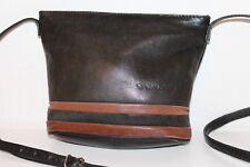 FUNBAG 80er 80s TRUE VTG Vintage Leder Tasche Leather Bag Schultertasche SATCHEL