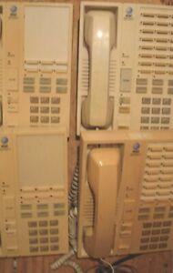ATT Spirit 308 KSU PBX phone system with four (4) business phone sets;6 & 24 btn
