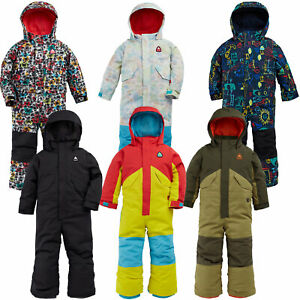 Burton Toddler one piece Infant Snow Suit Overalls Winter Suit Ski Suit New