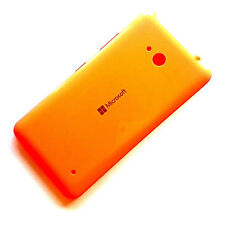 100% Genuine Microsoft Lumia 640 rear battery cover+side buttons Orange back
