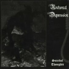NOCTURNAL DEPRESSION - Suicidal Thoughts - CD 2010 (Sun & Moon Records)