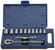 """12pc 1/2""""Dr,12mm-24mm Shallow Supertorque®Sockets & Dr Tools Set 50669"""